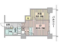 プライムアーバン札幌 RIVER FRONT[2階]の間取り