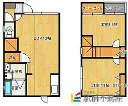 ObiII[1階]の間取り