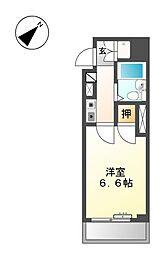 アズロワイヤル芳野[6階]の間取り