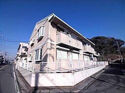千葉県市川市大野町2丁目の賃貸アパートの外観