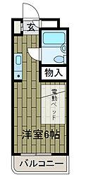 フォートレス王禅寺[4階]の間取り