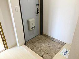 清潔感のある玄関