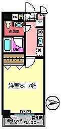 バレーヌ Y&K[502号室]の間取り