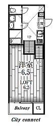 シンギュライティ[2階]の間取り