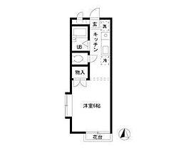 メゾン沢II[2階]の間取り