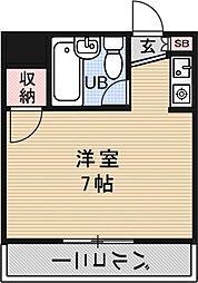 プレアール堂田[309号室号室]の間取り