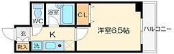 大阪府吹田市垂水町2の賃貸マンションの間取り