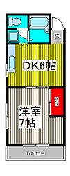 誠和堂ビル[3階]の間取り