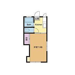 めぐみハイツII[2階]の間取り