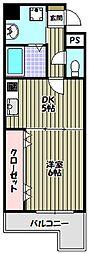 Krehl宿院[1階]の間取り