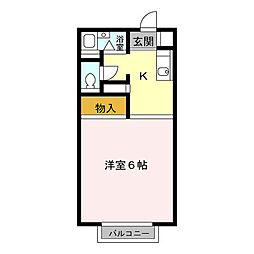 MKエクセル[2階]の間取り