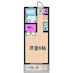元住吉コート[2階]の間取り