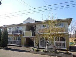 長野県長野市三本柳東1丁目の賃貸アパートの外観