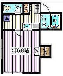 埼玉県さいたま市南区白幡3丁目の賃貸アパートの間取り