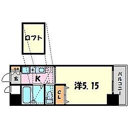ミュゼ甲子園[9階]の間取り