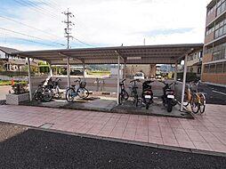 岐阜県可児市久々利の賃貸マンションの外観