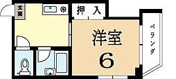 メゾン長池[2階]の間取り