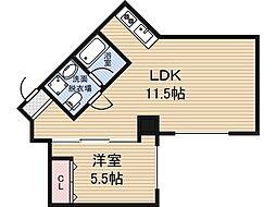 新大阪GHビル[7階]の間取り