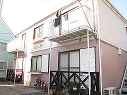 神奈川県横須賀市三春町5丁目の賃貸アパートの外観