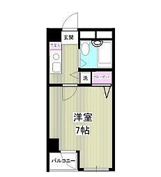アクア江戸川橋[1階]の間取り
