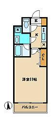 リヴェールHERO[2階]の間取り