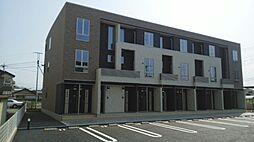 山梨県甲府市上石田2丁目の賃貸アパートの外観