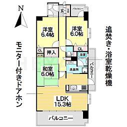 新瑞橋アイリス弐番館[12階]の間取り