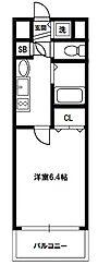 プレサンス新大阪クレスタ[3階]の間取り