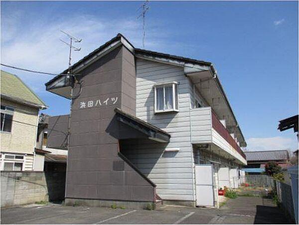 浜田ハイツ[105号室]の外観