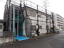 埼玉県八潮市中央2丁目の賃貸アパートの外観