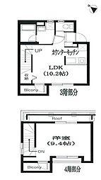 Residence Nakameguro 3階1LDKの間取り