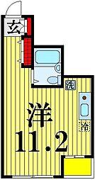 東京都足立区梅島2の賃貸マンションの間取り