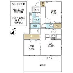 (仮)D-room永国[101号室号室]の間取り