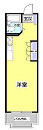 スカイロイヤル12[3-B号室]の間取り