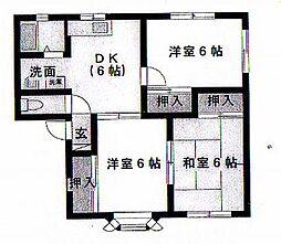 エクセルDJ[1階]の間取り