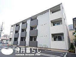 兵庫県伊丹市桜ケ丘1丁目の賃貸アパートの外観