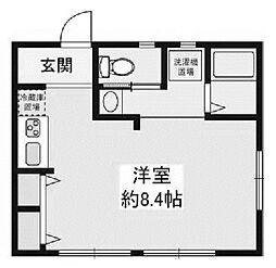 光陽荘[1階]の間取り