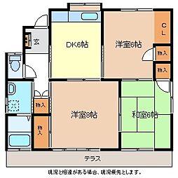 [一戸建] 長野県長野市大字大豆島 の賃貸【/】の間取り