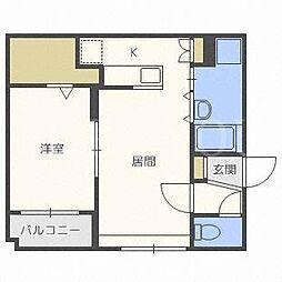グランメール栄通10[4階]の間取り
