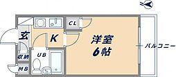 KSピースマンション[103号室]の間取り