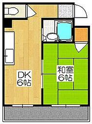 ル・松尾[402号室]の間取り
