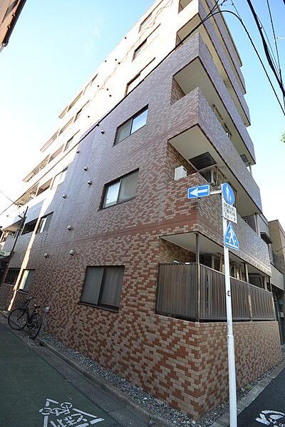 東京都中野区丸山2丁目の賃貸アパートの外観
