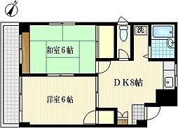 神崎ビル[4階]の間取り
