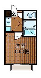 パークサイド鹿沼[1階]の間取り