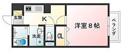 ボナール大澤II[2階]の間取り