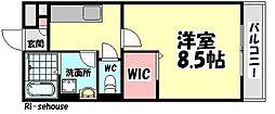 ウィステリアプレイス[3階]の間取り