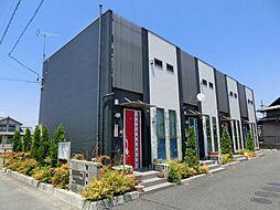 愛知県清須市西田中松本の賃貸アパートの外観