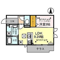 仮)D-room本町[1階]の間取り