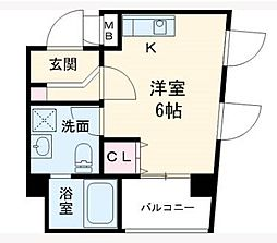 エムゼック・ルネス横須賀[301号室]の間取り