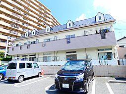 千葉県松戸市稔台3丁目の賃貸アパートの外観
